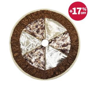 NOELLE ALAS POHON NATAL 115 CM – BRONZE / GOLD