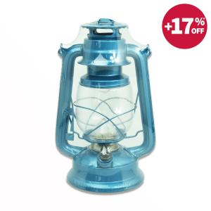 HURRICANE LENTERA LAMPU 16 LED - BIRU