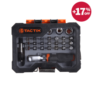 TACTIX SET KUNCI SOK MINI 28 PCS