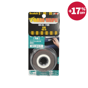 SCOTCH DOUBLE SIDED FOAM TAPES UNTUK PERMUKAAN MOBIL