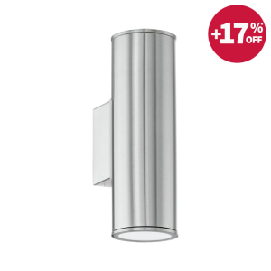 EGLO RIGA LAMPU DINDING STAINLESS STEEL