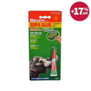 SELLEYS SUPA GLUE NON-DRIP GEL LEM PEREKAT 3 ML