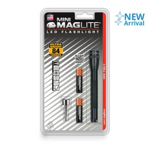 MAGLITE SENTER LED MINI MAG HANGPACK AAA SP32016 - BLACK