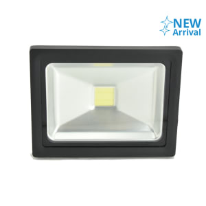 KRISBOW LAMPU SOROT LED 20W 3000K - HITAM