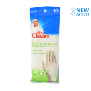 MR.CLEAN LATEX SARUNG TANGAN DISPOSABLE 10 PCS