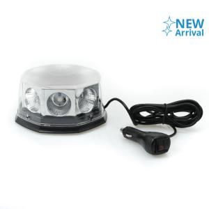 LAMPU STROBE MOBIL 8 LED - MERAH