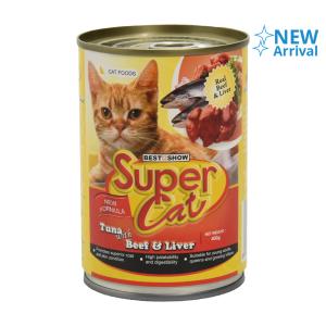 SUPER CAT BEEF LIVER 400 GR