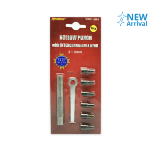 SET HOLLOW PUNCH 2-5 MM