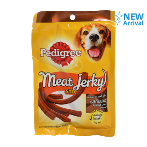 PEDIGREE MEAT JERKY STIX CEMILAN ANJING - GRILLED LIVER