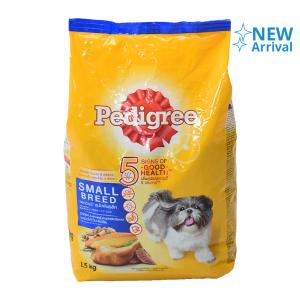 PEDIGREE PAKAN ANJING SMALL BREED CHICKEN & LIVER BAG 1.5 KG
