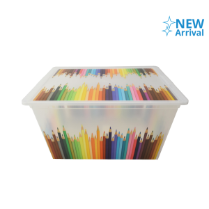 KIS C-BOX KOTAK PENYIMPANAN PLASTIK XL – COLORS
