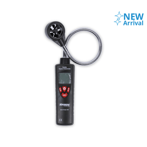 KRISBOW FLEXIBLE THERMO ANEMOMETER