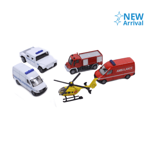 SIKU RESCUE VEHICLES GIFT SET 5 PCS