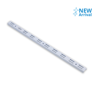 KRISBOW WALL UPRIGHT DOUBLE 50 CM - PUTIH