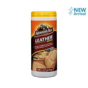 ARMOR ALL LEATHER WIPES 20PCS