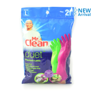 MR.CLEAN DUET SARUNG TANGAN UKURAN L 2 PCS