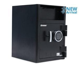 KRISBOW BRANKAS DEPOSIT BOX FITUR PIN - HITAM