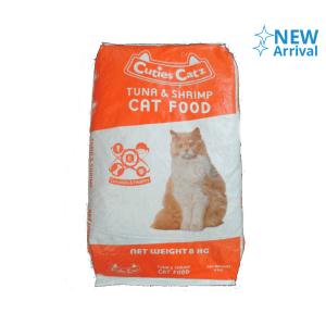CP PETFOOD CUTIES CATS MAKANAN KUCING TUNA & UDANG 8 KG