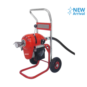 KRISBOW DRAIN CLEANER 200MM MOTOR WITH STAND