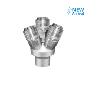 KRISBOW MULTI QUICK 3 COUPLER 1/4 INCI - PIPE