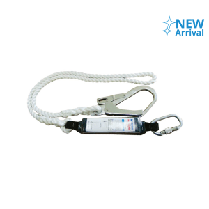 KRISBOW LANYARD ROPE WITH SHOCK ABSORBER