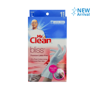 MR.CLEAN BLISS SARUNG TANGAN BEBAS LATEX UKURAN L