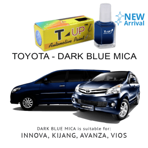 T-UP CAT OLES PENGHILANG GORESAN & BARET (DEEP SCRATCH) TOYOTA - DARK BLUE MICA