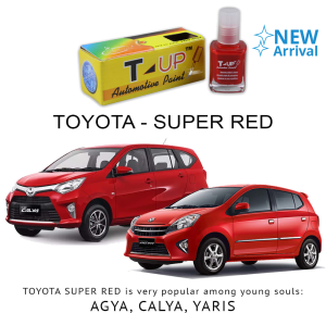 T-UP CAT OLES PENGHILANG GORESAN & BARET (DEEP SCRATCH) TOYOTA - SUPER RED V