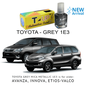 T-UP CAT OLES PENGHILANG GORESAN & BARET (DEEP SCRATCH) TOYOTA - GREY MICA 1E3
