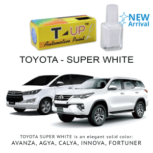 T-UP CAT OLES PENGHILANG GORESAN  TOYOTA - SUPERWHITE II