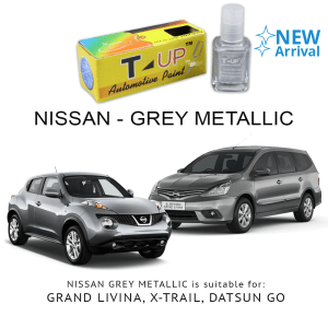 T-UP CAT OLES PENGHILANG GORESAN NISSAN - GREY MET