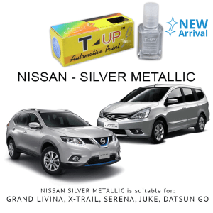 T-UP CAT OLES PENGHILANG GORESAN NISSAN - SILVER METALLIC