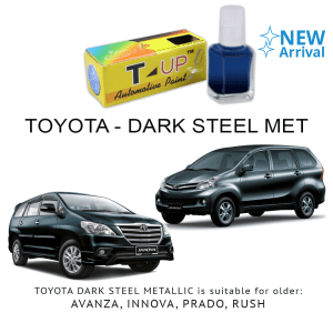 T-UP CAT OLES PENGHILANG GORESAN TOYOTA - DARK STEEL METAL
