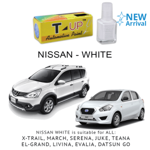 T-UP CAT OLES PENGHILANG GORESAN NISSAN - WHITE