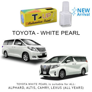 T-UP CAT OLES PENGHILANG GORESAN TOYOTA - WHITE PEARL CRYSTAL