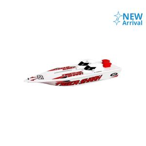 HOBBY ENGINE PREMIUM LABEL R/C TIGER SHARK SPEEDBOAT