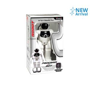SILVERLIT ROBOT PINTAR PROGRAM-A-BOT 88429