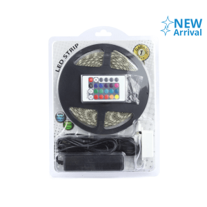 KRISBOW LAMPU LED STRIP RGB 14.4W/MTR