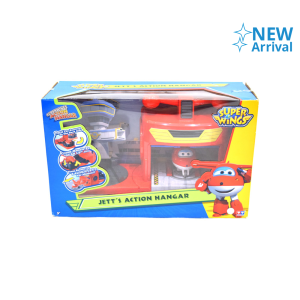 AULDEY SUPER WINGS JETT ACTION HANGAR