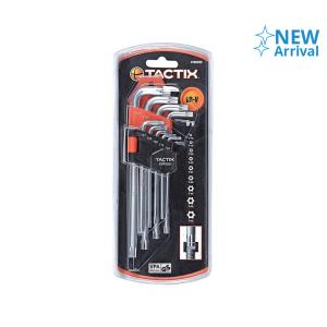 TACTIX SET KUNCI L TORX T10-T50 9 PCS