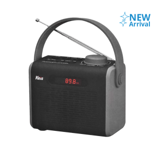 KRIS RADIO PORTABEL TR-840BT - HITAM