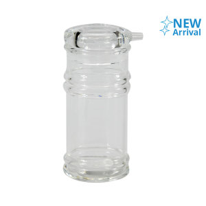 KRISCHEF botol KECAP 5.4x5.4x12.8 cm - transparan