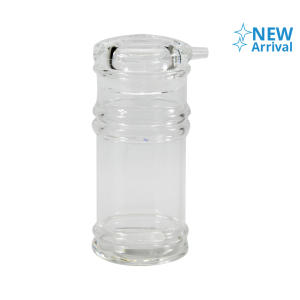 KRISCHEF botol KECAP 4.8x4.8x11.5 cm - transparan