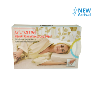 Arthome Bantal Memory Foam With Cooling Effect 60x40 cm