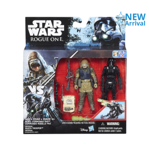STAR WARS R1 IMPERIAL DEATH TROOPER AND REBEL COMMANDO PAO