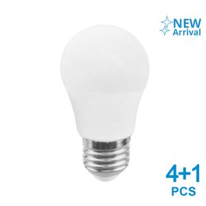 KRISBOW SET LAMPU BOHLAM LED 7W 5 PCS - WARM WHITE