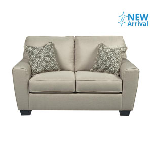 ASHLEY CALICHO SOFA 2 DUDUKAN - KREM