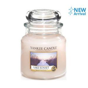 YANKEE LAKE SUNSET CANDLE JAR 411 GR