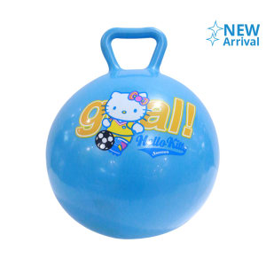 HELLO KITTY MAINAN BOLA 23 CM - BIRU