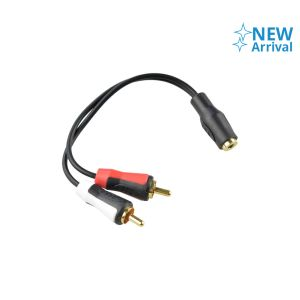 MONSTER KABEL AUDIO JACK 3.5MM TO DUAL RCA PLUG 15 CM